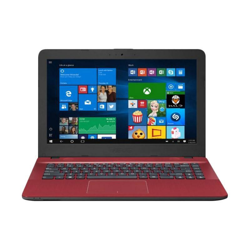 Notebook Asus X441ba Ga413t Red Amd A4 9125 4g 500g 14 Wind10 Mdp It Electronic Store